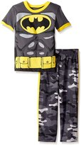Warner Brothers Toddler Boys Batman Tricot Pant Set with Tee