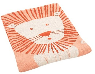 Safavieh Baby's Dandy Lion-Print Cotton Throw
