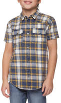 Dex Plaid Button-Up Shirt