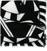Givenchy power of love print scarf - women - Silk/Virgin Wool - One Size