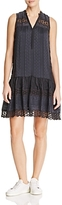 Rebecca Taylor Lace-Inset Dress