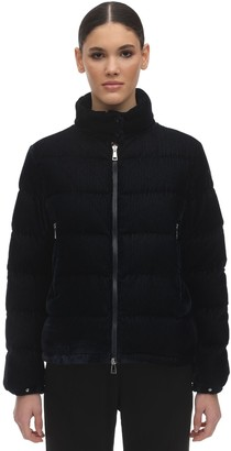Moncler Copenhague Velvet Down Jacket