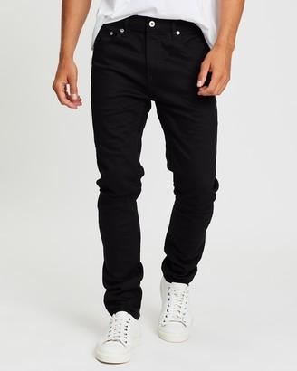 Topman Stretch Skinny Ripped Knee Jeans