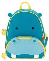 Skip Hop Zoo Little Kids & Toddler Backpack, Hippo