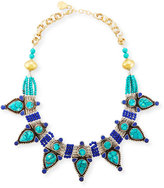 Devon Leigh Turquoise & Lapis Statement Necklace
