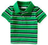 Ralph Lauren Little Boys 3-24 Months Striped Mesh Polo Shirt