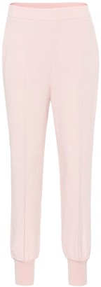 Stella McCartney Julia stretch-crepe tapered pants