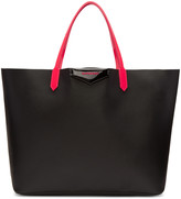Givenchy Black & Pink Large Tote Bag