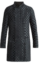 Haider Ackermann Checkered Woven Coat