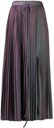 M Missoni Iridescent Pleated Skirt