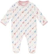 Jo-Jo JoJo Maman Bebe Reindeer Footie (Baby) - Pink-3-6 Months