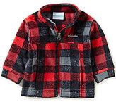 Columbia Baby Boys 12-24 Months Zing III Buffalo Plaid Fleece Jacket
