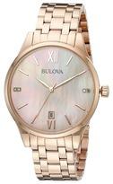 Bulova Diamonds - 97P113 Watches