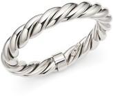 Roberto Coin Ruthenium Finished Sterling Silver Twist Bangle Bracelet