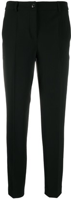 Boutique Moschino Mid Rise Straight Leg Trousers