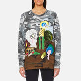 Marc Jacobs Women's Raglan Sweatshirt Camo Julie