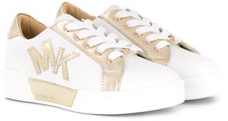 Michael Kors metallic low-top sneakers