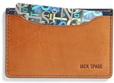 Jack Spade Leather Credit Card Holder