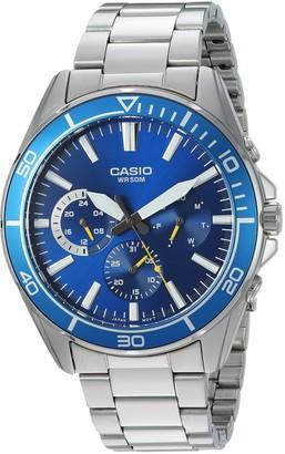Casio Men's Sports Quartz Watch with Stainless-Steel Strap