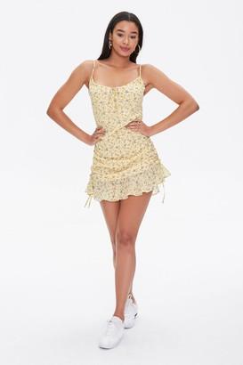Forever 21 Floral Print Cami Dress