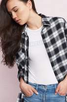 Garage Soft Flannel Boyfriend Shirt