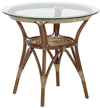 Sika Design Cafe Rattan Table - Brown