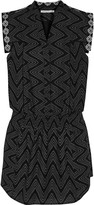 Rebecca Minkoff Hellena printed cotton mini dress
