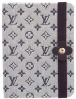 Louis Vuitton Mini Lin Carne MM Notebook