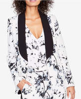 Rachel Roy Floral-Print Sailor Blazer, Created for Macy's