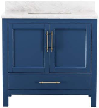 M.O.D. Kendall Blue Bathroom Vanity, 36''