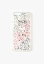 Missguided Unicorn Tears Glitter iPhone 6 Case