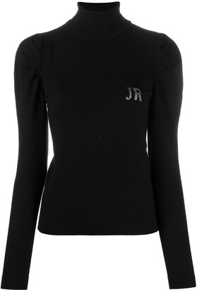 John Richmond Glitter Logo Jumper