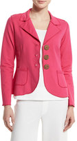 Neon Buddha New Denim Button-Front Jacket, China Cat Pink