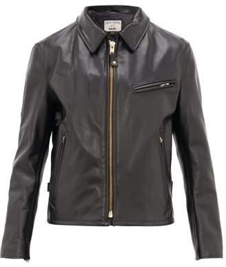 Schott Leather Jacket - Mens - Black