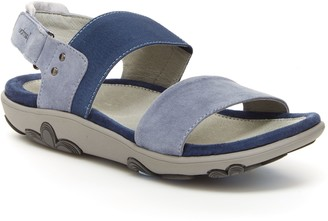 Jambu Adjustabel Leather Flat Sandals - Ivy