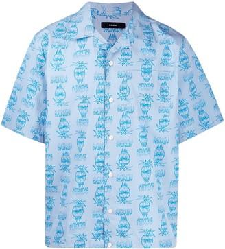 Diesel Pineapple Print Short-Sleeve Shirt