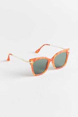 Penelope Combination Cat-Eye Sunglasses