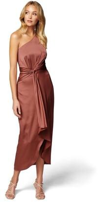 Forever New Haidee One Shoulder Midi Dress