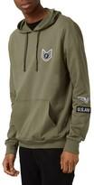 Topman Men's Military Badge Hoodie