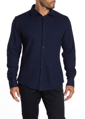 Stone Rose Waffle Knit Regular Fit Shirt