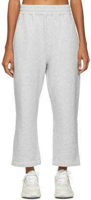 Alexander Wang Grey Heavy French Terry Lounge Pants