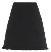 RED Valentino Ruffled Miniskirt