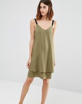 Warehouse Double Layer Cami Dress