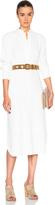Helmut Lang Crepe Shirt Dress