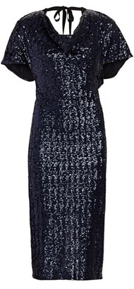 Roland Mouret Marianne Sequin Sheath Dress