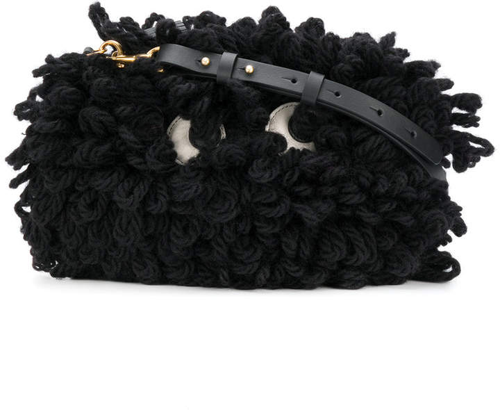 Anya Hindmarch Shag Shop crossbody bag
