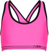 Thumbnail for your product : Adam Selman Sport Cross-Back sports bra