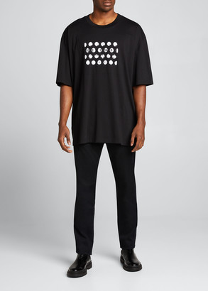 Maison Margiela Men's Oversized Logo T-Shirt