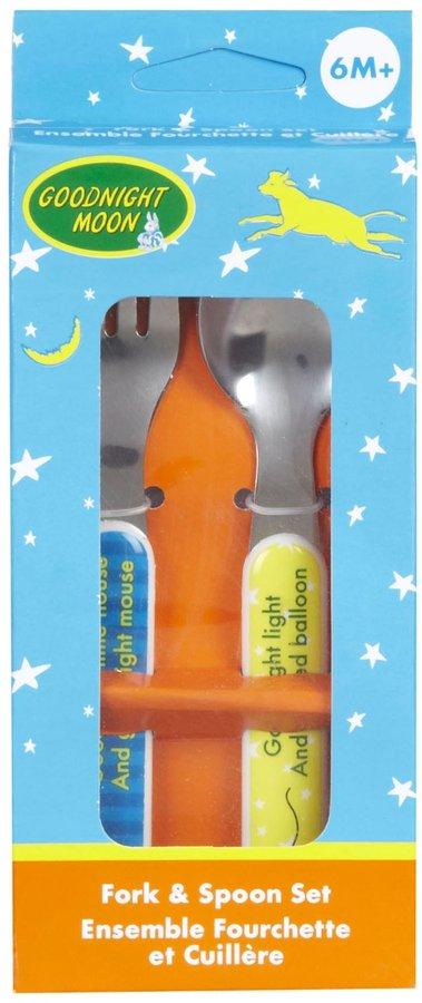Kids Preferred Fork & Spoon Utensil Set - Goodnight Moon