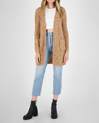 Express Bb Dakota Long Sleeve Knit Cardigan